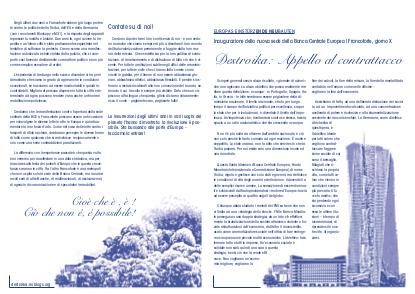Destroika: Appello al contrattacco